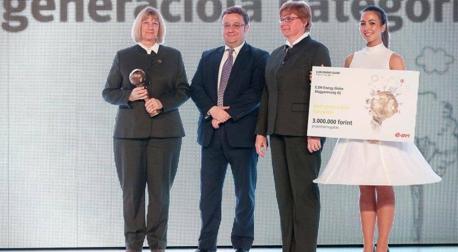 Energy Globe díjat nyert az Erdő Háza